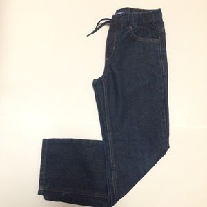 Old Navy Straight Elastic Waist Blue Jeans